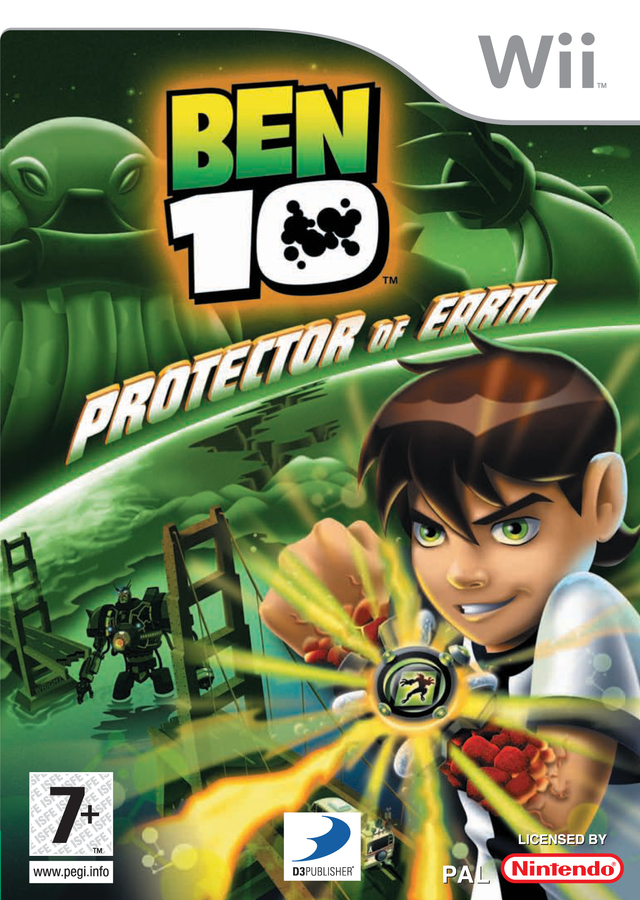 Caratula de Ben 10: Protector Of Earth para Wii