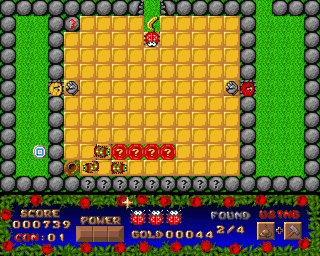 Pantallazo de Benny Beetle In Colorworld para Amiga