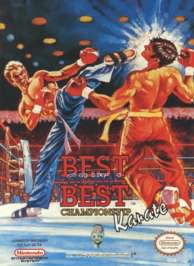 Caratula de Best of the Best: Championship Karate para Nintendo (NES)