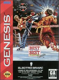 Caratula de Best of the Best Championship Karate para Sega Megadrive