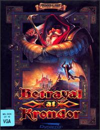 Caratula de Betrayal at Krondor para PC