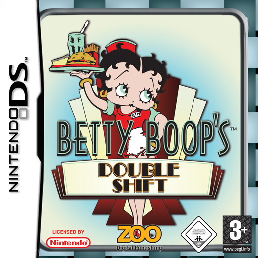 Caratula de Betty Boop's Double Shift para Nintendo DS
