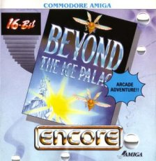 Caratula de Beyond The Ice Palace para Amiga