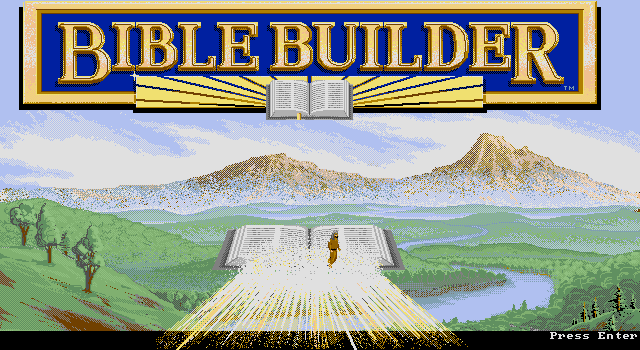 Pantallazo de Bible Builder para PC
