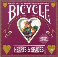 Caratula de Bicycle Hearts & Spades [Jewel Case] para PC