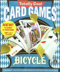 Caratula de Bicycle Totally Cool Card Games para PC