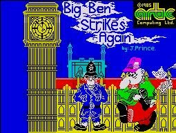 Pantallazo de Big Ben Strikes Again para Spectrum