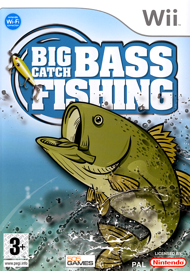 Caratula de Big Catch : Bass Fishing para Wii