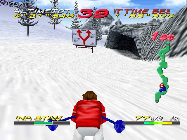Pantallazo de Big Mountain 2000 para Nintendo 64