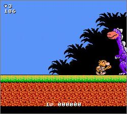 Pantallazo de Big Nose the Caveman para Nintendo (NES)