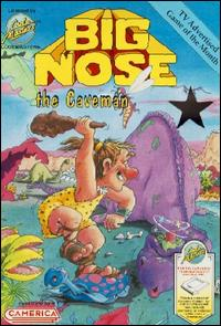 Caratula de Big Nose the Caveman para Nintendo (NES)