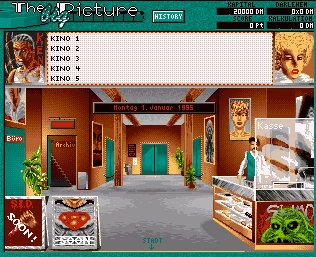 Pantallazo de Big Picture, The para Amiga