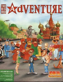 Caratula de Big Red Adventure para PC