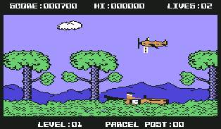 Pantallazo de Billy the Postman para Commodore 64