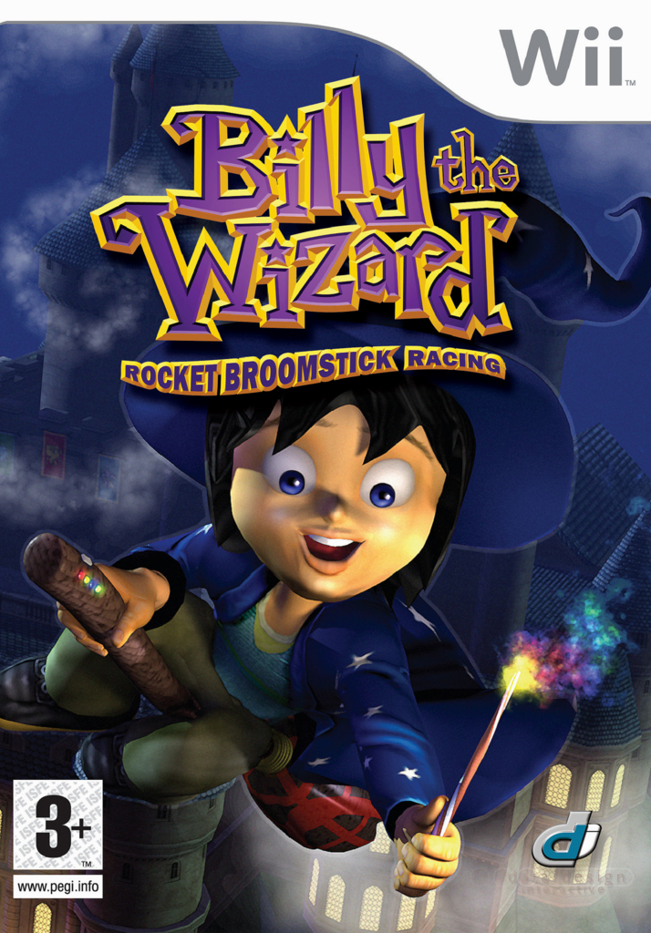 Caratula de Billy the Wizard para Wii