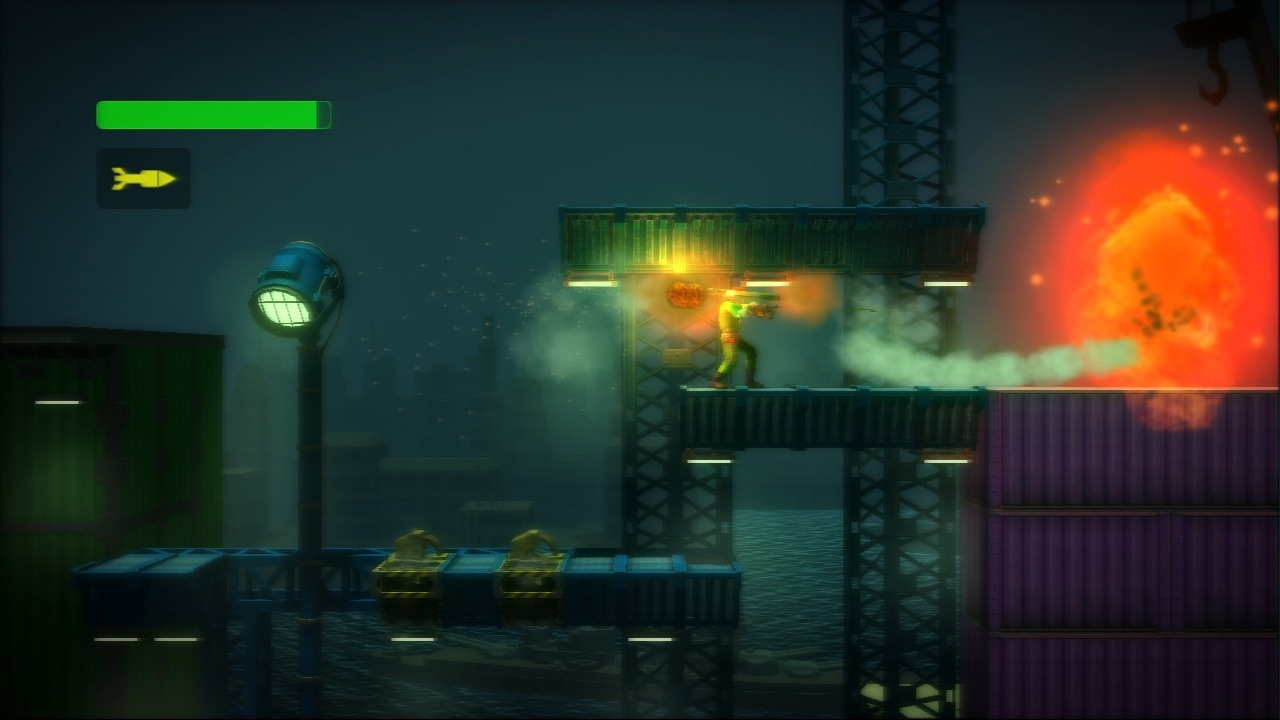 Pantallazo de Bionic Commando Rearmed (PS3 Descargas) para PlayStation 3