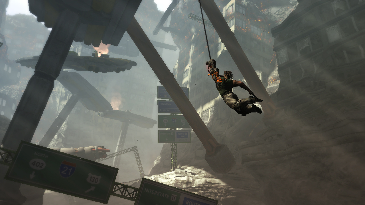 Pantallazo de Bionic Commando para PlayStation 3