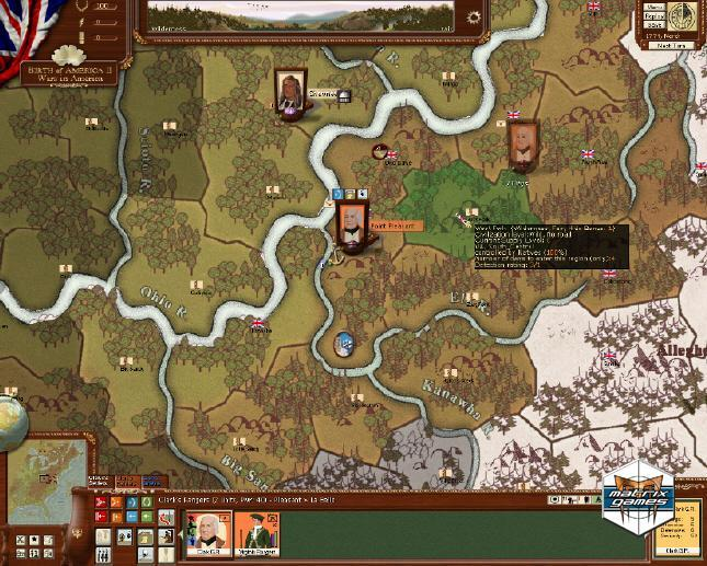 Pantallazo de Birth of America II: Wars in America para PC