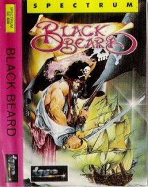 Caratula de Black Beard para Spectrum