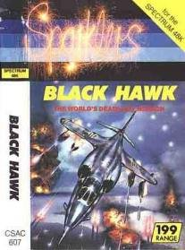 Caratula de Black Hawk para Spectrum