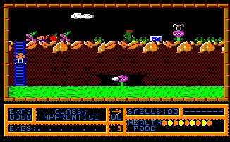 Pantallazo de Black Magic para Amstrad CPC
