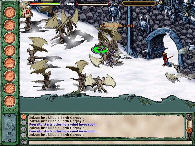 Pantallazo de Black Moon Chronicles: Winds of War para PC