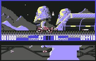 Pantallazo de Black Thunder para Commodore 64