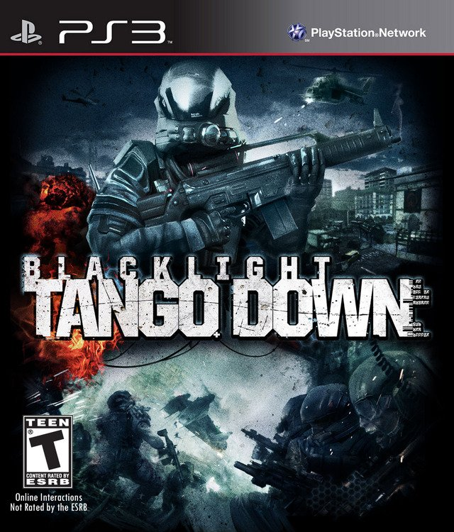 Caratula de Blacklight: Tango Down para PlayStation 3