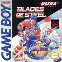 Caratula de Blades of Steel para Game Boy