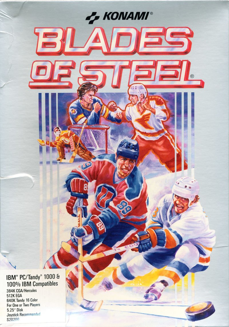 Caratula de Blades of Steel para PC