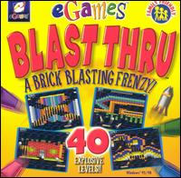 Caratula de Blast Thru [Jewel Case] para PC
