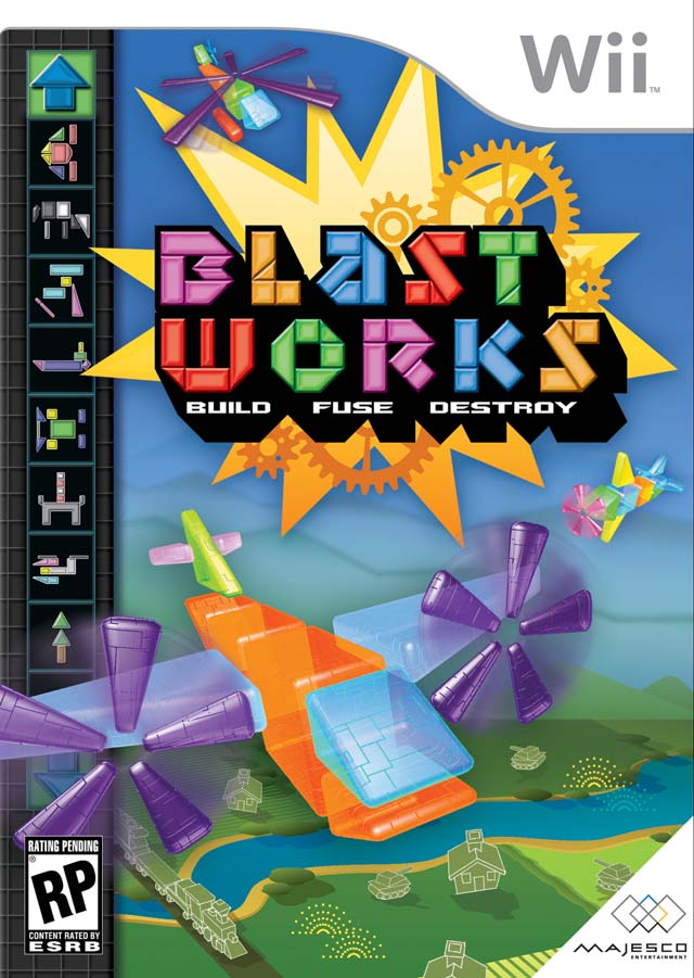 Caratula de Blast Works: Build, Trade & Destroy para Wii