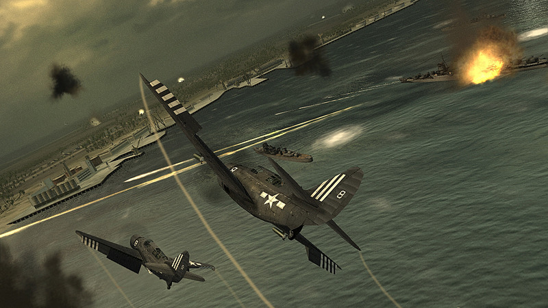 Pantallazo de Blazing Angels: Squadrons of WWII para PlayStation 3
