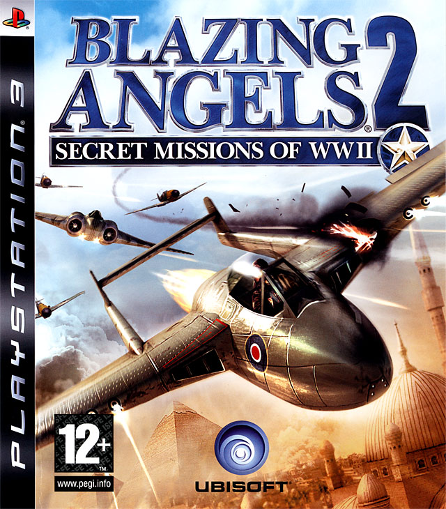 Caratula de Blazing Angels: Squadrons of WWII para PlayStation 3