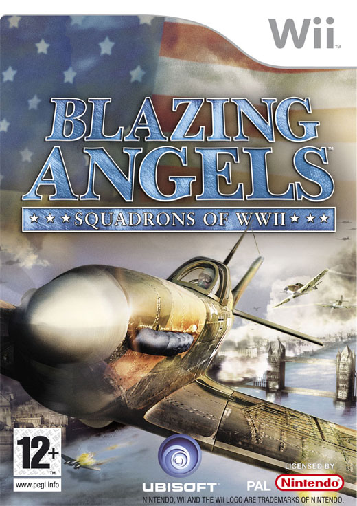 Caratula de Blazing Angels: Squadrons of WWII para Wii