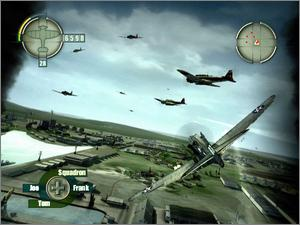 Pantallazo de Blazing Angels: Squadrons of WWII para Xbox