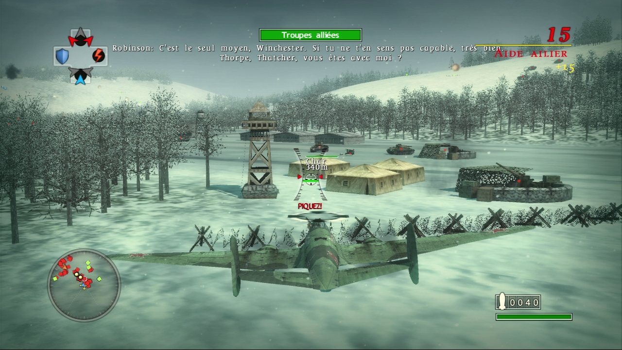 Pantallazo de Blazing Angels 2: Secret Missions of WWII para PlayStation 3