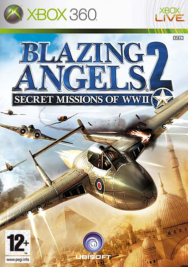 Caratula de Blazing Angels 2: Secret Missions of WWII para Xbox 360
