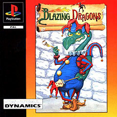 Caratula de Blazing Dragons para PlayStation