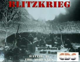 Caratula de Blitzkrieg At The Ardennes para Amiga