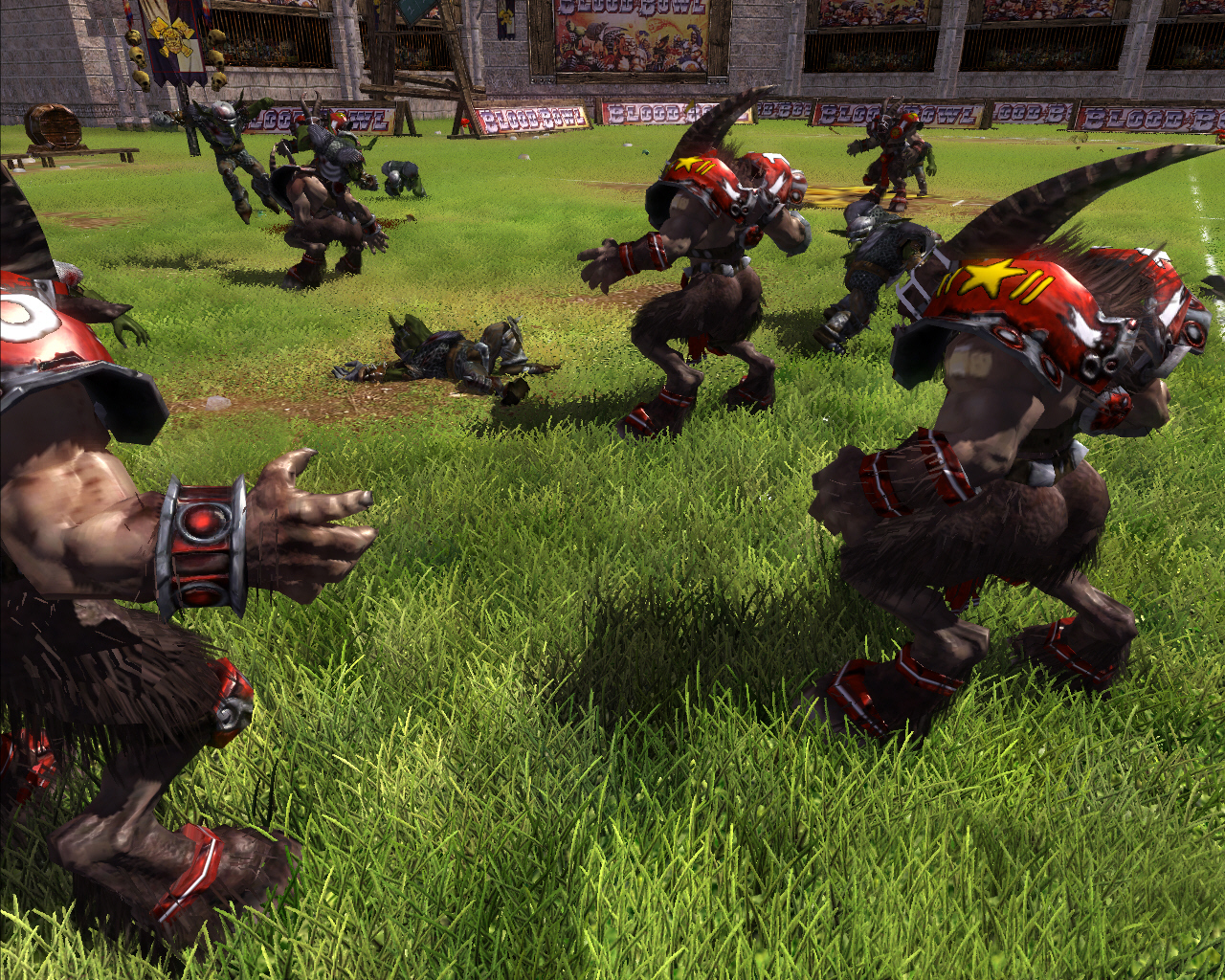 Pantallazo de Blood Bowl (2008) para PC