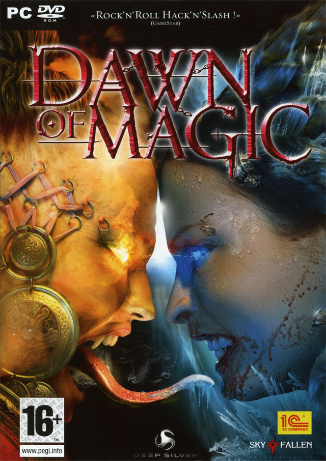 Caratula de Blood Magic (Aka Dawn of Magic) para PC