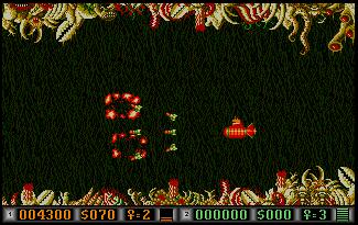 Pantallazo de Blood Money para Atari ST