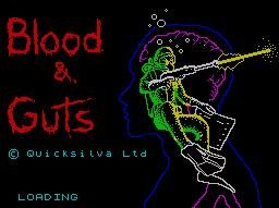 Pantallazo de Blood 'N' Guts para Spectrum