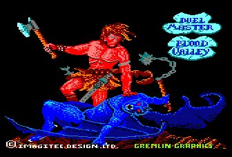 Pantallazo de Blood Valley para Amstrad CPC