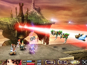 Pantallazo de Blood of Bahamut para Nintendo DS