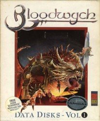 Caratula de Bloodwych: Data Disk Vol 1. para Amiga