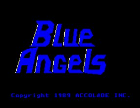 Pantallazo de Blue Angels: Formation Flight Simulation para Amiga