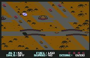 Pantallazo de Blue Max 2001 para Commodore 64
