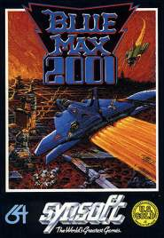 Caratula de Blue Max 2001 para Commodore 64